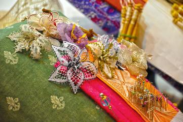 Encaje de bolillos, artesanía española, Almagro