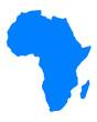 Karte von Afrika