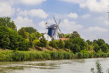 Windmill by the Midland Canal poster
