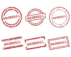 Baseball Stempel