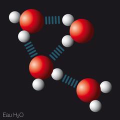 Chimie - Molécule d'eau