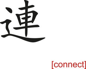 Chinese Sign for connect