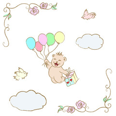 Teddy Bear greeting card