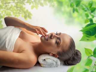 Eco-friendly medicines on spa treatments