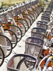 public use bicycles