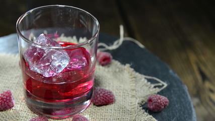 Raspberry Liqueur (loopable video)
