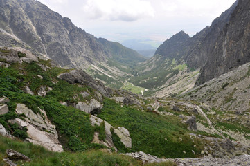 mountains and valleys of the High Tatras, Slovakia, Europe