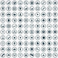100 development, soft icons.