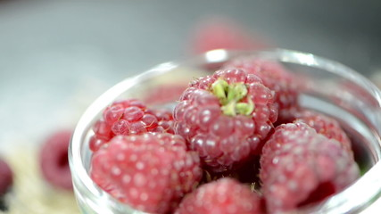 Portion of Raspberries (not loopable)