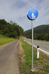 piste piéton et vélo