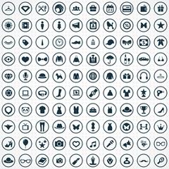 100 fashion icons.
