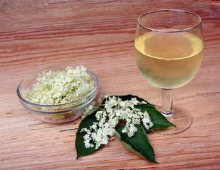 Drink elderberry flowers