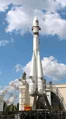 "copy of the carrier rocket ""Vostok"""