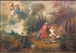 Bruges - Paint of Abraham and Isaac in cathedral of st. Salvator - 68610881