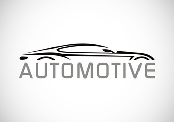 car draw automotive vector logo