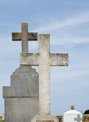 Crosses on cemetary