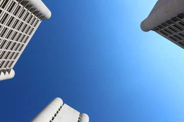 skyscrapers fiera district bologna