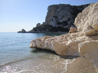 Einsame Bucht in Sardinien