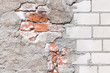 Mauerwerk, Sanierung, Hintergrund, grunge, Renovierung - 68612821