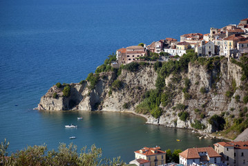 Agropoli City from Cilento Coast Italy