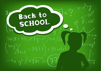 back to school girl speech and thought