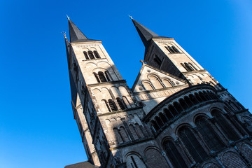 Minster (church) in Bonn, Germany