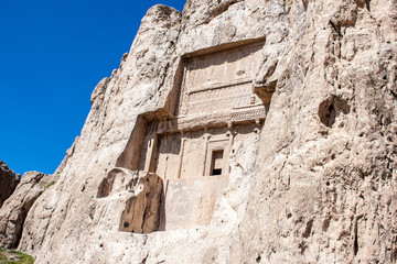 Naqsh-e Rustam, Tomb of Persian Kings in Fars province, Iran