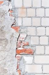 Mauer, Hintergrund, grunge, Sanierung, Strukturen