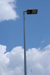 Futuristic street lamp