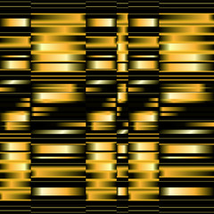 abstract vector gold stripes background