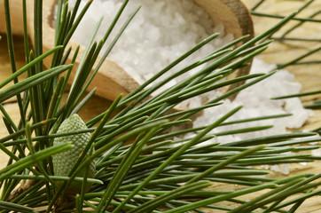 Bath salt - Pinus sylvestris Sales de baño Sali da bagno