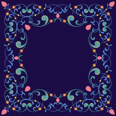 Ornamental stylish border