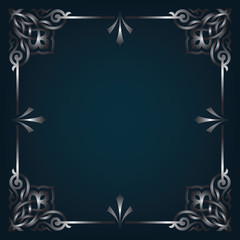 Ornamental blank border