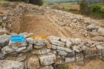 Poliochni archaeological site, Lemnos island