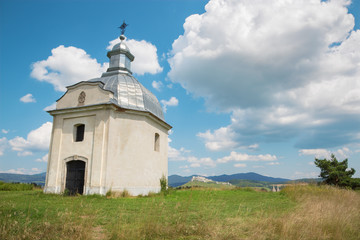 Spisska Kapitula - Chapel and riuns of Spissky castle