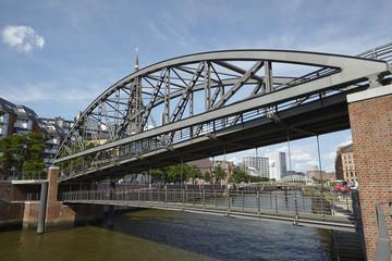 Hamburg - Brücke bei der Katharinenkirche