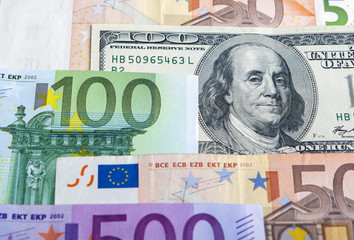 European and the US Hard Currencies Together