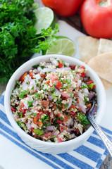 bulgur tabouleh salad