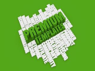 Premium templates green