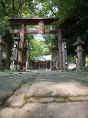 田舎の神社
