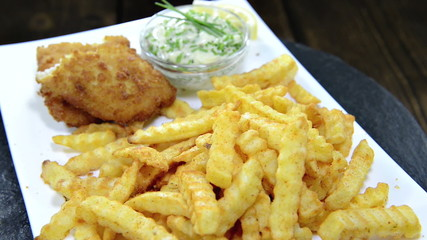 Fish with French Fries (loopable)