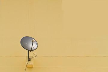 Satellite dish .