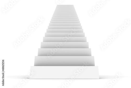Plexiglas Trappen White Staircase