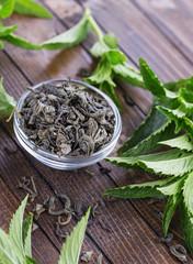 Dry herbal tea