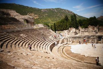 大劇場、エフェソス遺跡