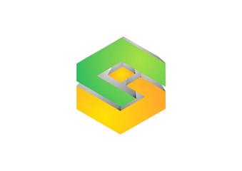 Corporate Business luxury fashion vector logo design template