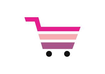 shopping cart icon shopping basket design