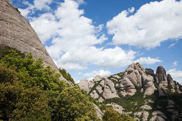 Montserrat Mountain in Catalonia