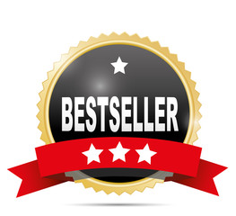 Bestseller label.
