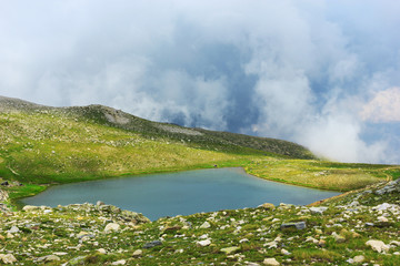 Amazing view of landscape in national park Uludag